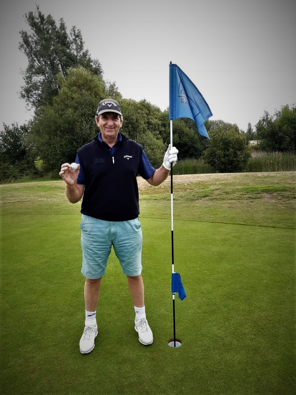 Colin Hunt hole in one