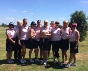 Garon Park ladies silver team 2017