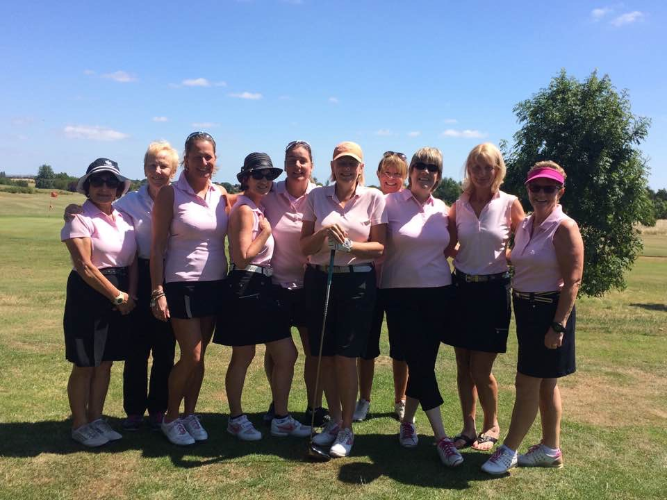 Garon Park ladies silver team 2017