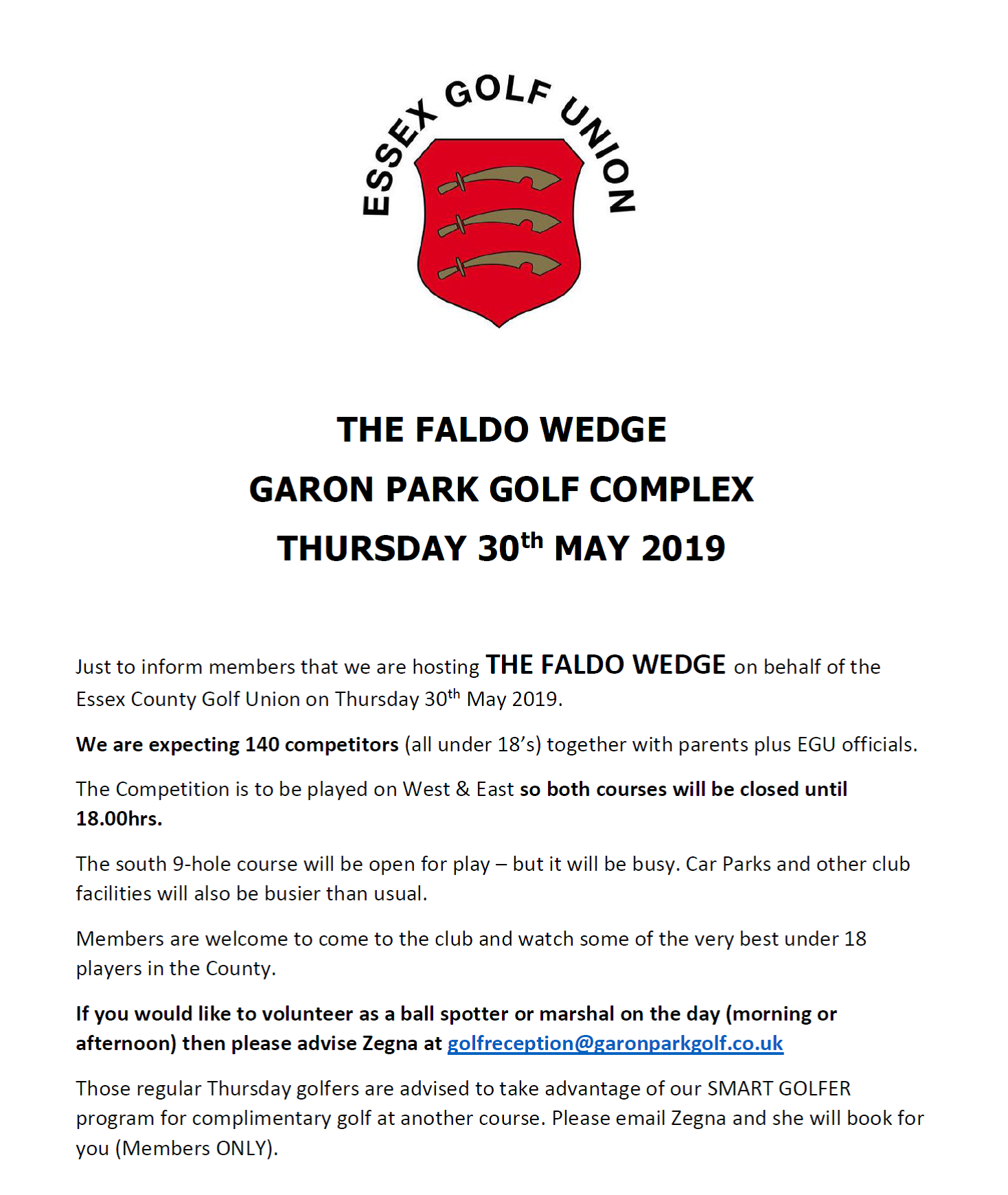 The Faldo Wedge